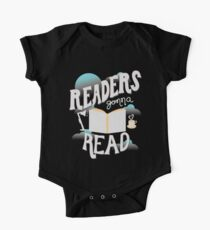 Readers Gonna Read. Book Lover Funny One Piece - Short Sleeve