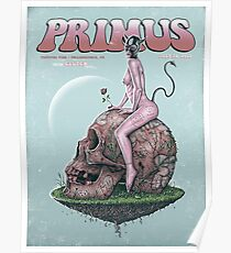 PRIMUS WITH CLUTCH, ESTIVAL FIER PHILADELPHIA, PA JULY29, 2017 Poster