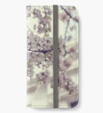 Cherry Blossoms 02 iPhone Flip-Case/Hülle/Skin