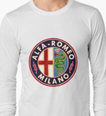 Antique Alfa-Romeo Classic Car Sign T-Shirt