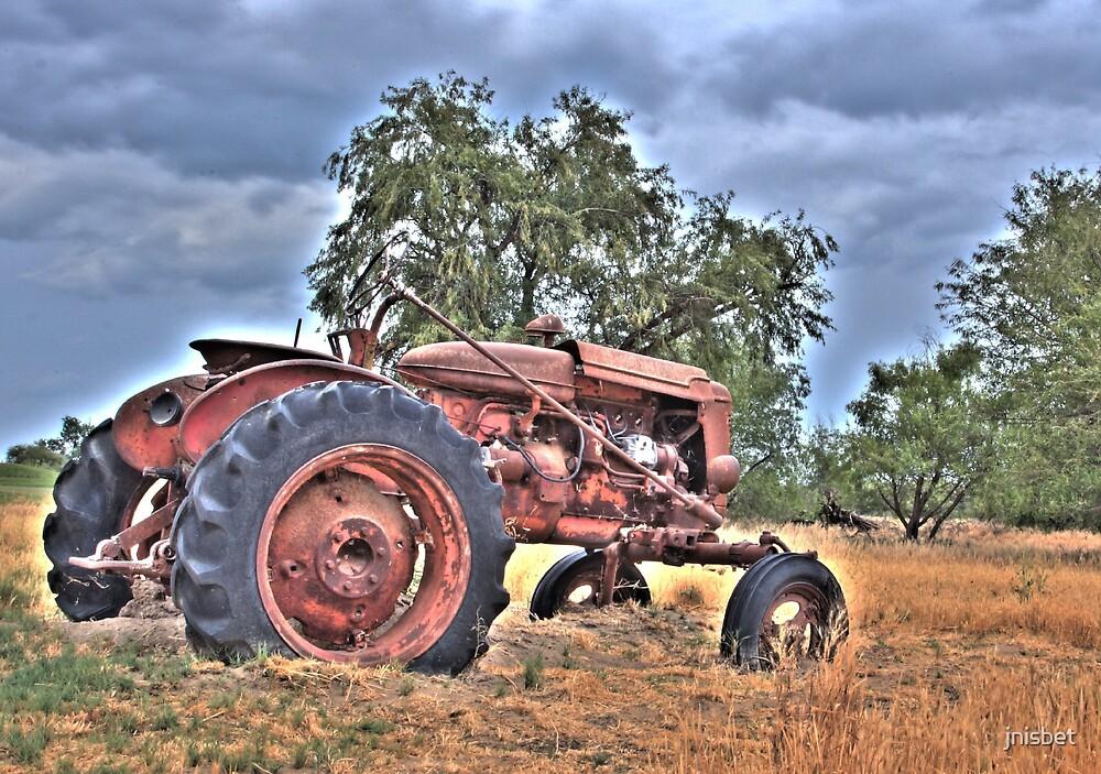 forgotten tractor by jnisbet