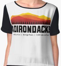Adirondack Mountains - New York Chiffon Top