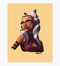 The Name's Ahsoka Tano Photographic Print