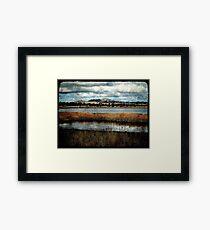 The Birdwatching Hut - Dangars Lagoon, Northern Tablelands, NSW, Australia Framed Print
