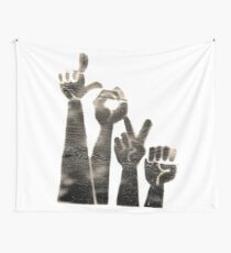 Love Signs Wall Tapestry