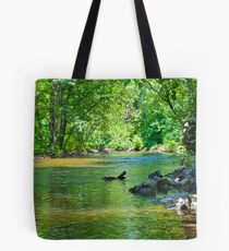 Tranquil Stream Tote Bag