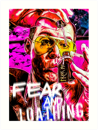 Quot Fear And Loathing In Las Vegas Print Quot Art Prints By