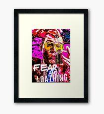 fear and loathing in las vegas print Framed Print