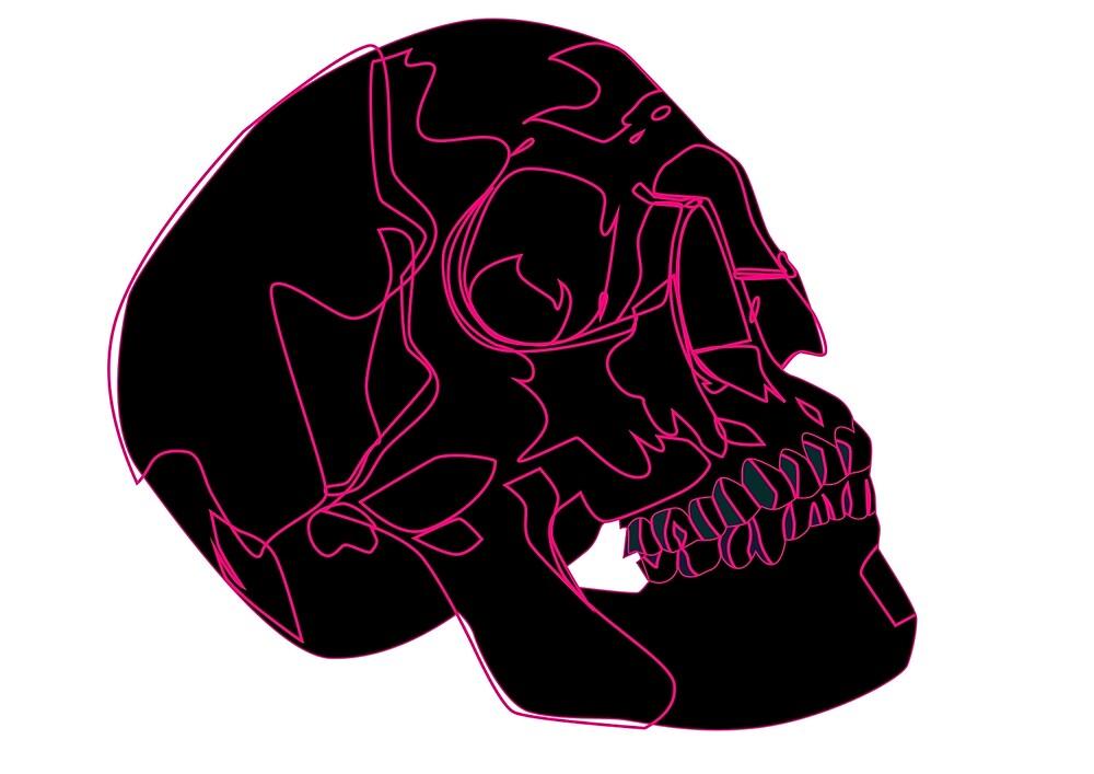 Black Skull by YinRae