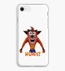 Crash Bandicoot - Woah! iPhone Case/Skin