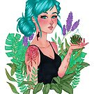 Andy | Garden Witch | Marker Art by FabledCreative