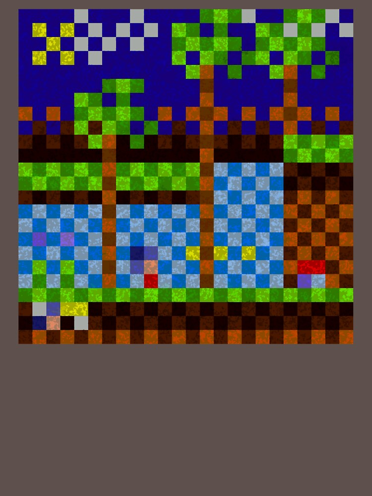 Pixel Sonic by MisterKeet