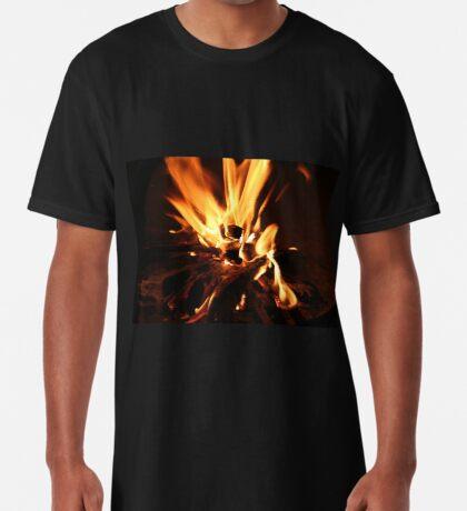 Flammen Longshirt