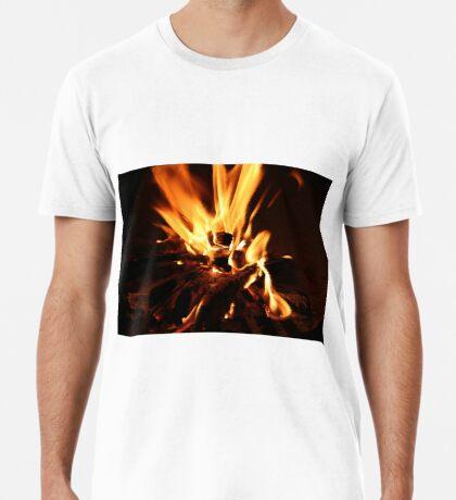 Flammen Männer Premium T-Shirts
