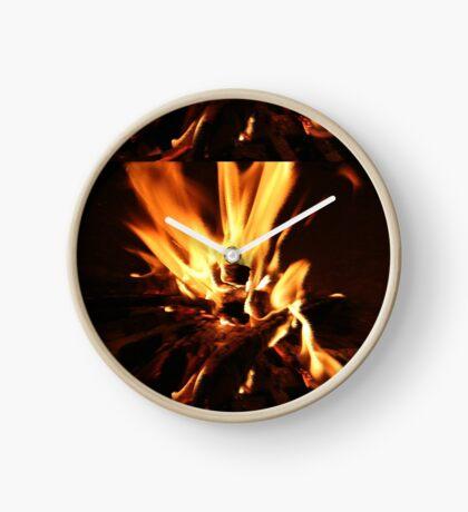 Flammen Uhr