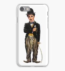 Chaplin, charlie, charlie chaplin, famous, actor, comedian, movie, cinema, iPhone Case/Skin
