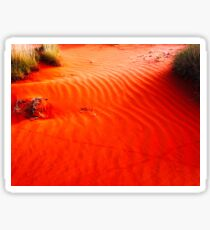 Sand Dunes #4 Of The Red Centre - Australia Sticker