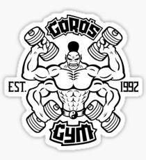 Goro's Gym - Mortal Kombat Sticker