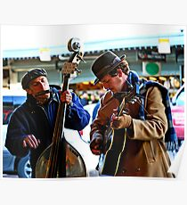 Pike's Place street performers Poster