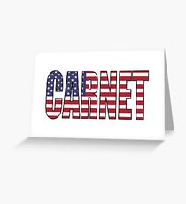 Carnet Greeting Card