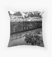 Tumut Bridge Throw Pillow