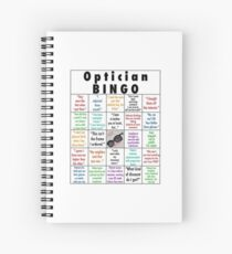 Optician BINGO Spiral Notebook