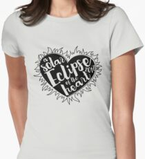 Solar Eclipse Of The Heart, Totality Solar Eclipse Tshirt T-Shirt