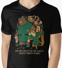 oo-de-lally T-Shirt mit V-Ausschnitt für Männer