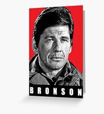 CHARLES BRONSON Greeting Card