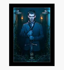 Klaus Mikaelson The Originals - Season 2 - Promotional Poster  Photographic Print