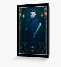 Elijah Mikaelson - The Originals - Season 2 - Promotional Poster  Greeting Card