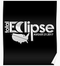 Total Solar Eclipse North American Path Of Totality 2017 Poster
