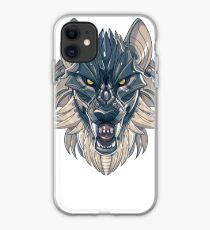 Mecha-Wolf Snarl iPhone Case