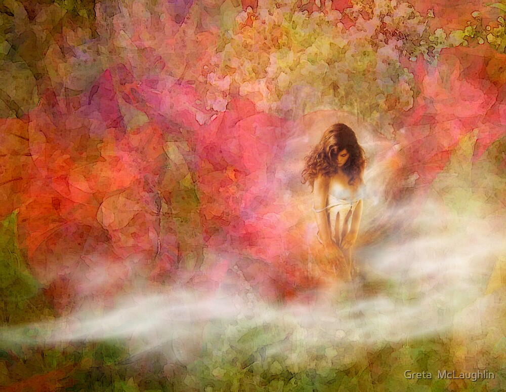 Morning Mist by Greta  McLaughlin