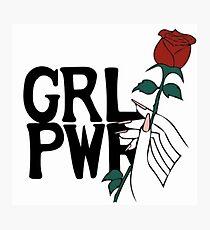 GRL PWR Photographic Print