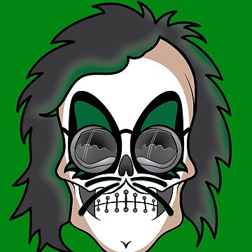 Peter Criss (Skull Dude) by ScottyTattoo