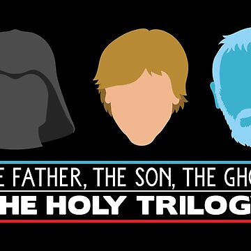 The Holy Trilogy (White Letters) by MouthpieceGFX