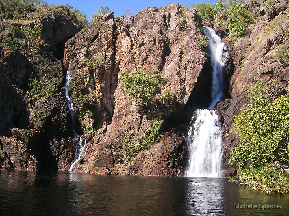 Wangi Falls, Litchfield (NT, Australia) by Michelle Spencer