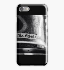 The Highest Culture iPhone Case/Skin