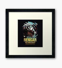 League of Legends RENGAR - [The Pridestalker] Framed Print
