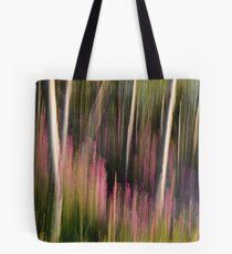 Forest Illusions- Crescendo at Dawn Tote Bag