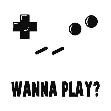 GAMER - WANNA PLAY? by BobbyG305