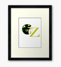 Wicked The Musical Oz Logo Framed Print