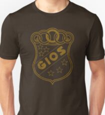 Gios Cycles BRONZE DISTRESSED T-Shirt