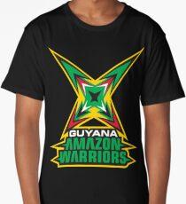 Guyana Amazon Warriors Cricket CPL T-shirt Long T-Shirt
