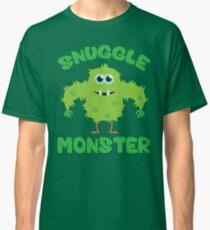 Snuggle Monster - green Classic T-Shirt