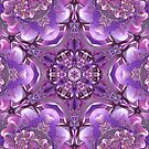 Truth Mandala in Purple, Pink and White by Kelly Dietrich