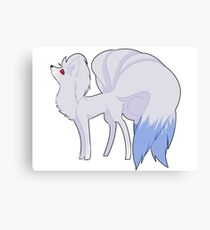 Shiny Ninetails Canvas Print