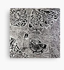 Taking Drugs To Make Music To Take Drugs To Canvas Print