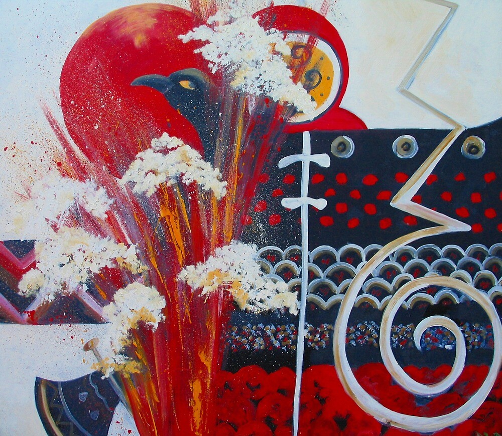 Memories of crete. The Eruption by Diana Cole
